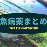 【魚病薬まとめ】私が使っているオススメのお薬をご紹介