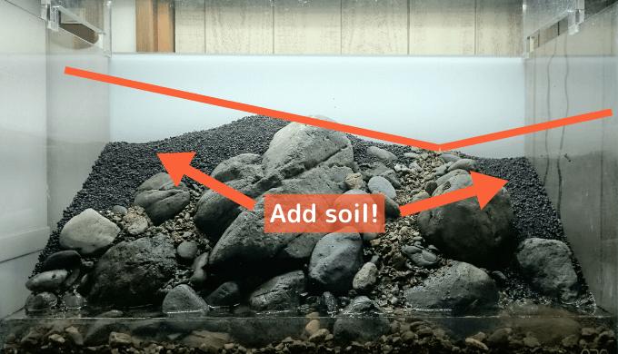 Add soil!